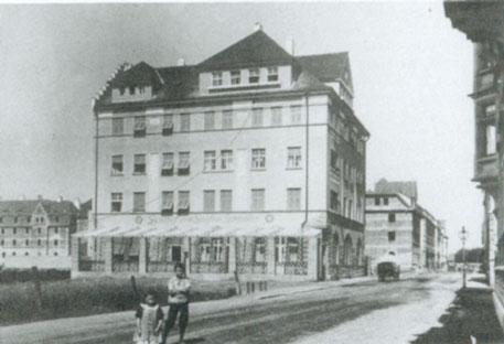 Hotel Zum Grafen Zeppelin Schweinfurt 1909