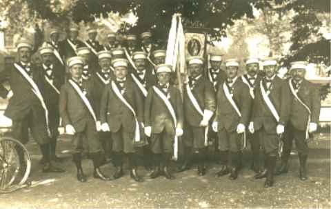 Bundestag des DRB in Augsburg vom 10.- 14.07.1914