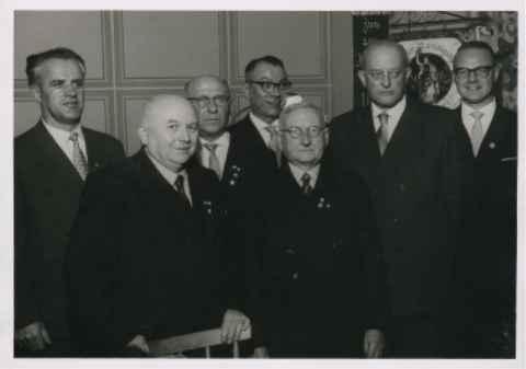 """""""65 Jahre 1 RVgg 1892 Schweinfurt """" am 26. Oktober 1957."""