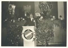 1. Vorsitzender Ph. Zimmermann bei seiner Festrede