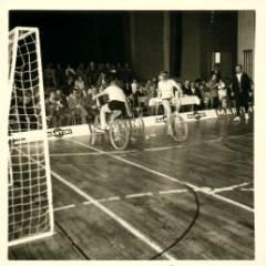 Bayerische Meisterschaft Radpolo in Burgkunstadt 1971