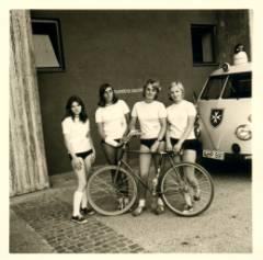 Ingrid Kraft, Karin Wetterich, Helga Zimmermann, Brigitte Streng