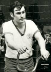 Radballspieler Egbert Eyring