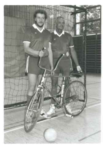 Bezirkslig I 1992 Udo Gerhardt, Herbert Leibold.