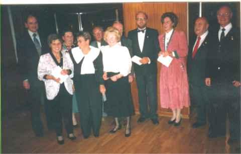 BRV Präsident Peter Edelhäuser ehrt Mitglieder.