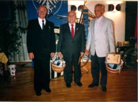 Hermann Streng u. Herbert Leibold Ehrenmitglieder.