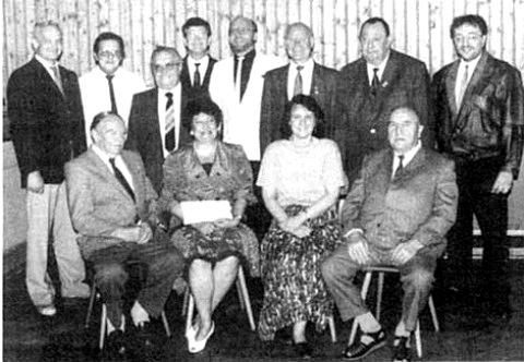 Vorstandschaft im Jubiläumsjahr 1992