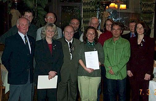 Bund Deutscher Radfahrer (BDR) die Ehrennadel in Gold