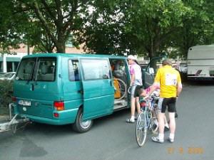 radtour nach bamberg 2000
