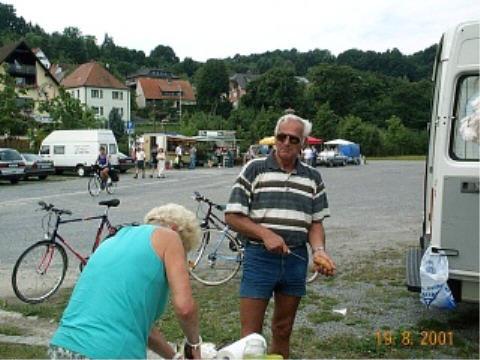 Radtour nach Bamberg 2001