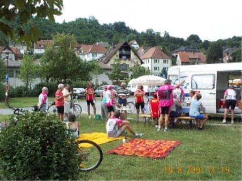 Bamberg Radtour 2001