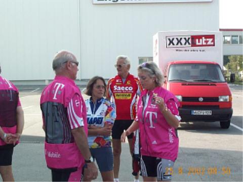Fahrradtour nach Bamberg 2002