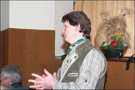 Schlachtschüssel Gasthaus Vier Jahreszeiten Forst 2010
