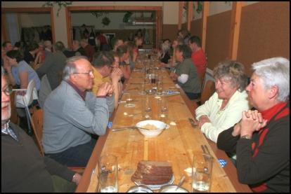 Schlachtschüssel Gasthaus Vier Jahreszeiten Forst 2011