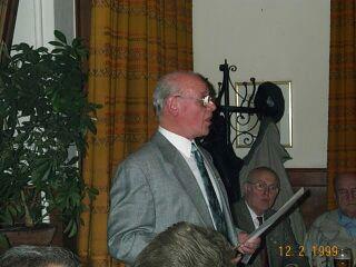 Mitgliederversammlung RV92 Schweinfurt 2001