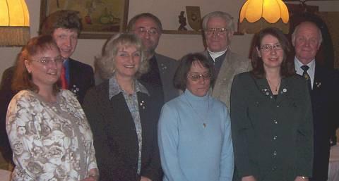 Ehrungen verdienter und langjähriger Mitglieder der RV92
