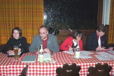 Mitgliederversammlung RV92 Schweinfurt 2005