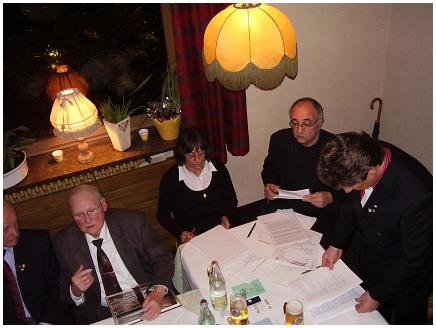Mitgliederversammlung RV92 Schweinfurt 2008