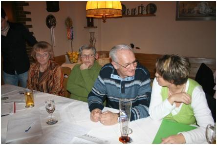 Mitgliederversammlung RV92 Schweinfurt 2009