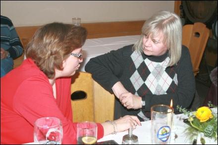 Ramona Zimmermann und Edith Andrews
