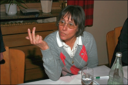 1. Schriftführerin Rosemarie Endress