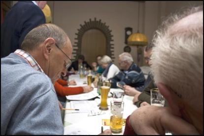Mitgliederversammlung RV92 Schweinfurt 2011