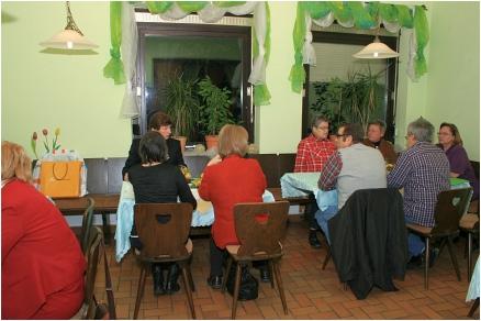 Mitgliederversammlung RV92 Schweinfurt 2012