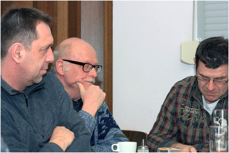 Mitgliederversammlung RV92 Schweinfurt 2017