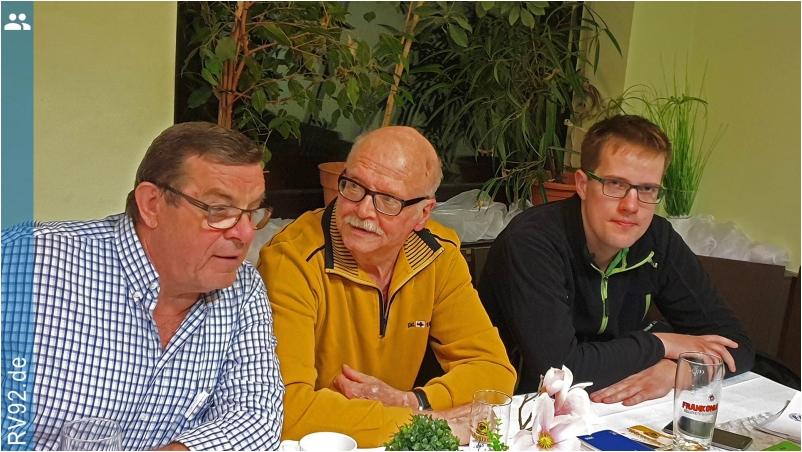 Mitgliederversammlung RV92 Schweinfurt 2019