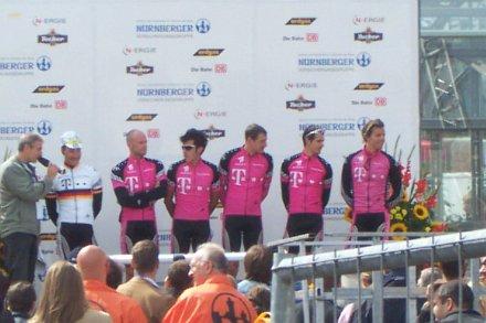 Team Telekom beim Radrennen Rund um die Nürnberger Altstadt 2003