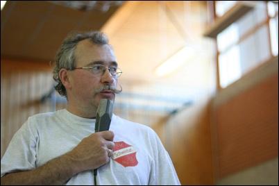 Spielgruppenleiter Hubert Henz