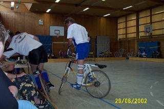 Radball Turnier 2002