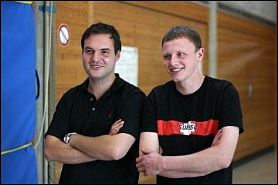 Daniel Mächler und Max Georg Huppmann - Freie Radler Stäfa