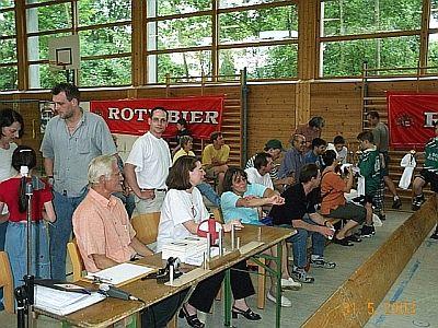 Fotos Radball Jugend Turnier 2003