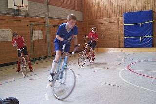 Fotos Radball Jugendturnier 2004