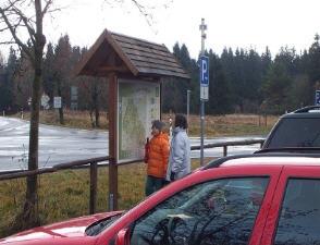 Parkplatz Naturlehrpfad Schwarzes Moor