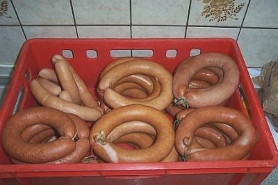 Knoblauchwurst Krakauer