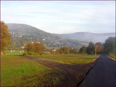 Blick auf Bischofsheim a.d. Rhön