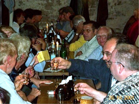 Weinprobe in Obereisenheim 2001