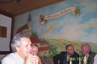 Weinprobe bei Weinbau Geßner Garstadt