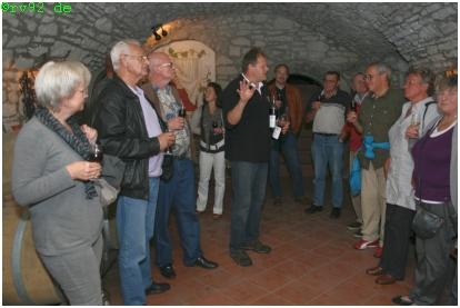 Weinprobe Geßner Garstadt 2011