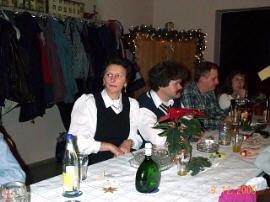 Weihnachtsfeier RV92 Schweinfurt 2000