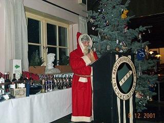 Nikolaus und Weihnachtsmann