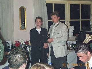 Weihnachtsfeier RV92 Schweinfurt 2001