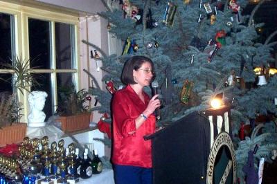Weihnachtsfeier und Ehrenabend am 14.12.2002