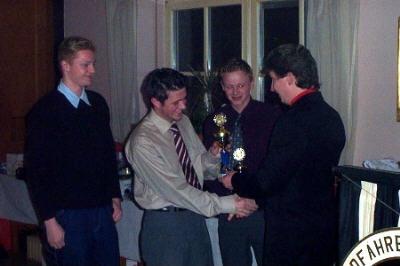 Weihnachtsfeier RV92 Schweinfurt 2002