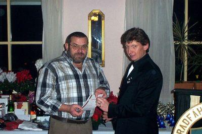 Weihnachtsfeier RV92 Schweinfurt 2003