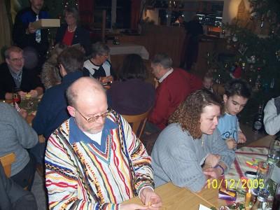 Weihnachtsfeier RV92 Schweinfurt 2005