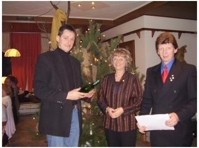 Weihnachtsfeier RV92 Schweinfurt 2006