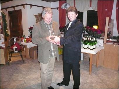 Weihnachtsfeier RV92 Schweinfurt 2007